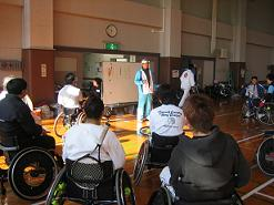 愛須コーチ講習風景